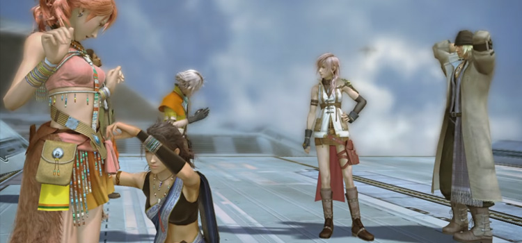 FF13 HD Screenshot of your team