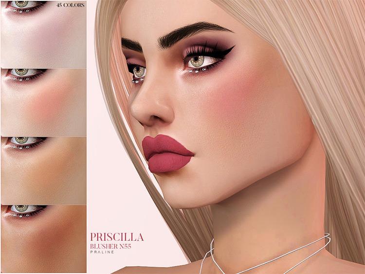 Priscilla Blusher N55 TS4 CC
