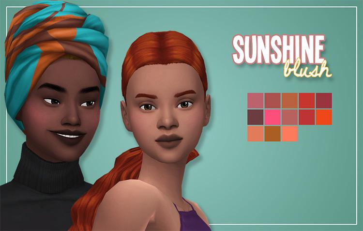 Sunshine Blush Sims 4 CC
