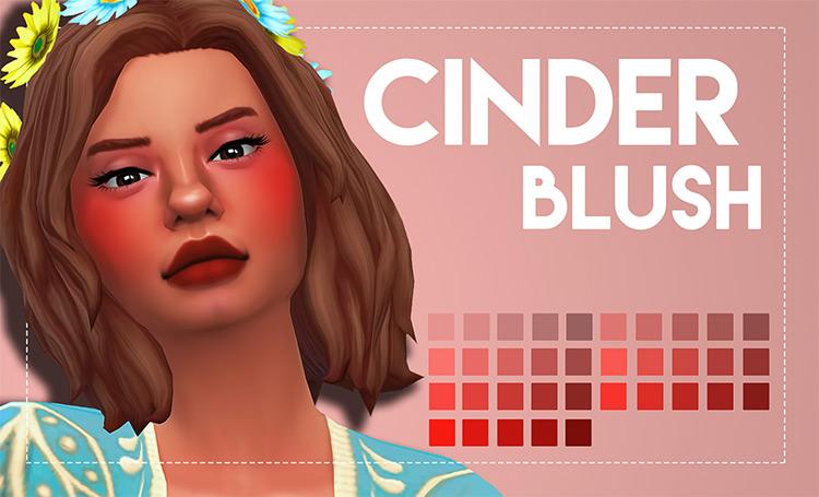 Cinder Blush Sims 4 CC
