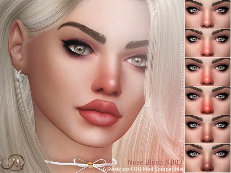 Nose Blush NB03 for Sims 4