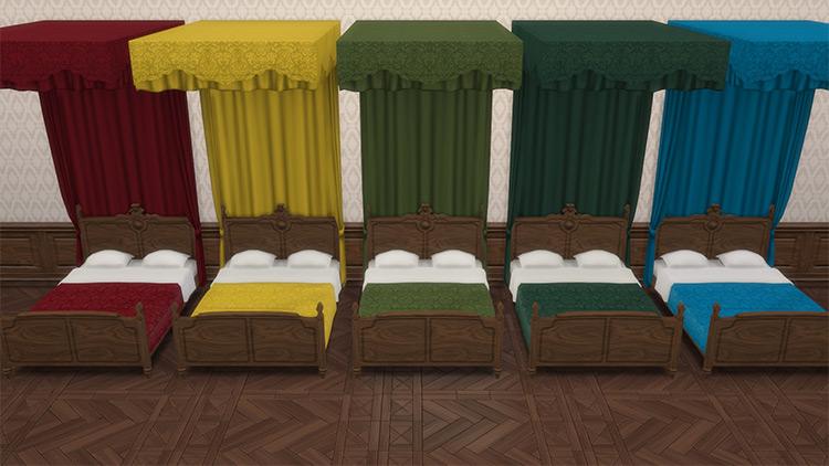 Victorian Set Sims 4 CC