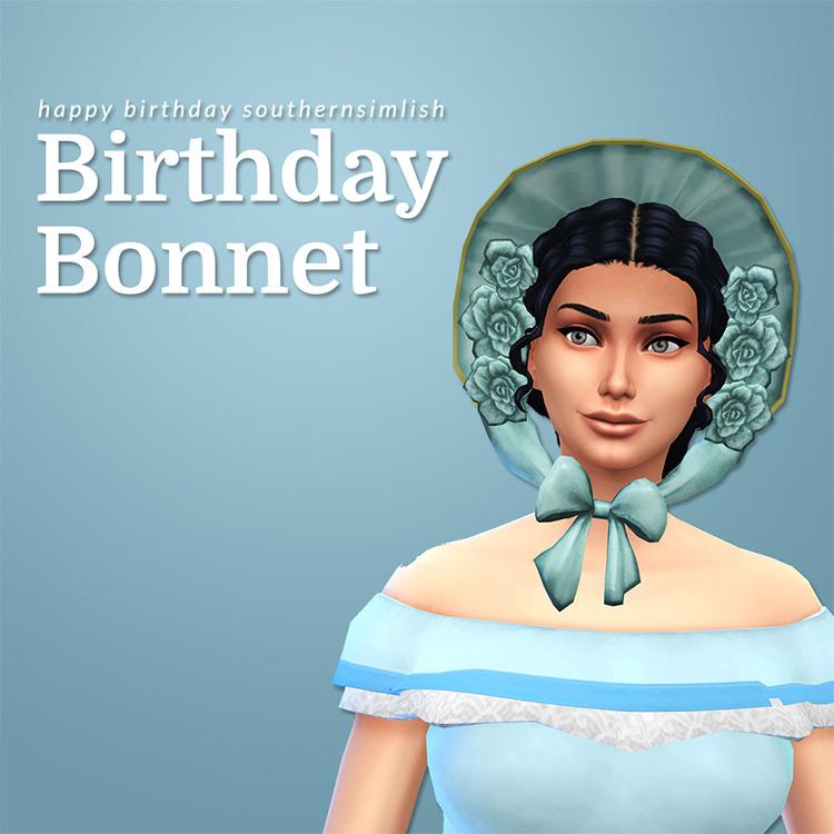 Birthday Bonnet for Sims 4