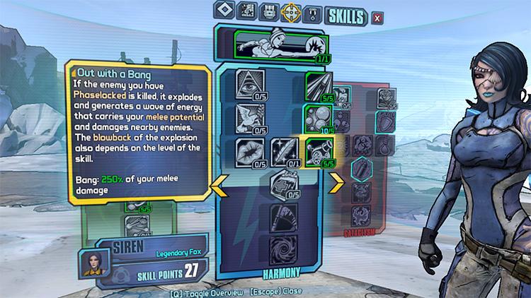 Elemental Banshee Maya - Borderlands 2 Mod