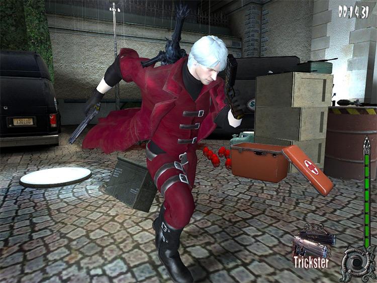 Dante (DMC) Max Payne 2 mod