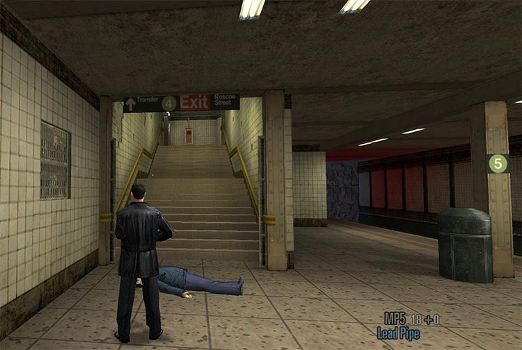 Max Payne 2: Old School Mod screenshot