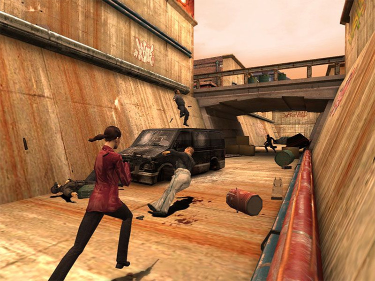 Mona: The Assassin mod for Max Payne 2