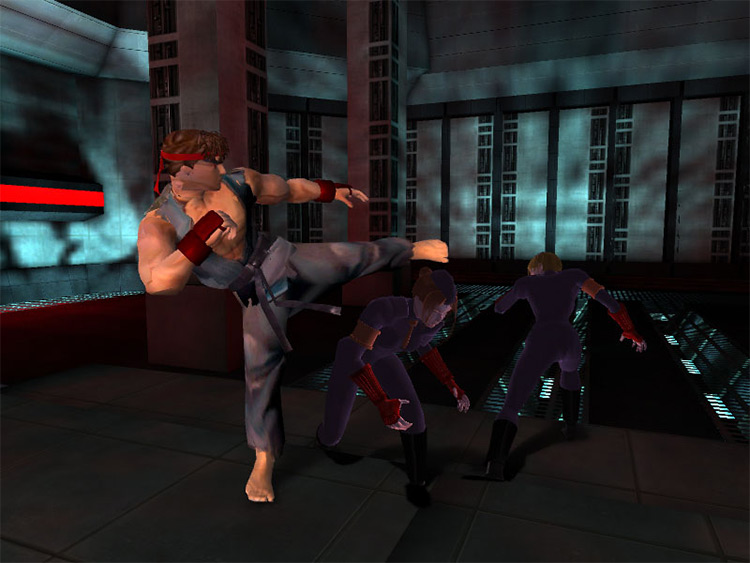 StreetFighter Max Payne 2 mod