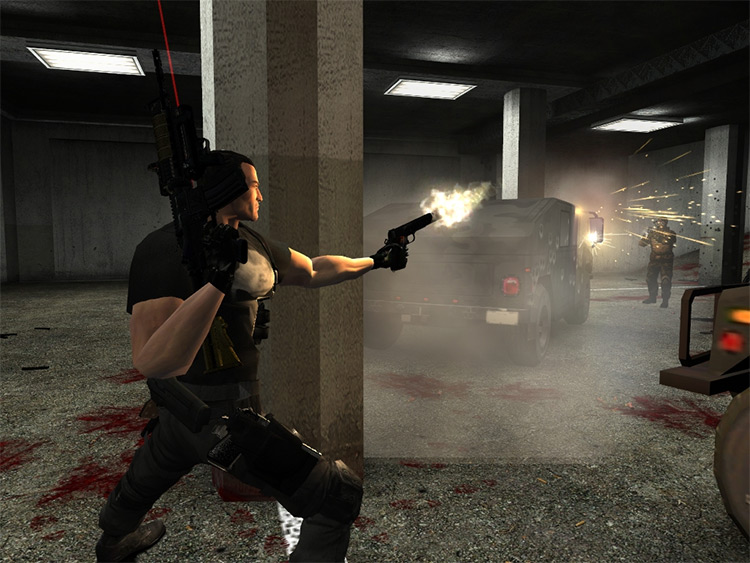 The Punisher-WarZone: CaseBox 01 in Max Payne 2