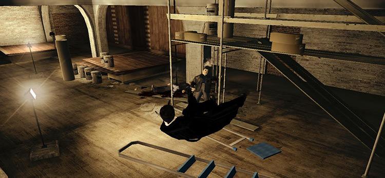 Cinema Max Payne 2 mod screenshot