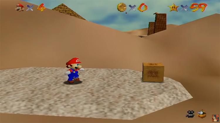 Super Mario 64 video game
