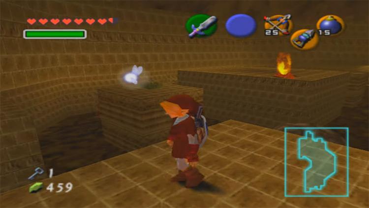 The Legend of Zelda: Ocarina of Time gameplay