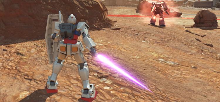 Gundam Versus HD Screenshot on PS4