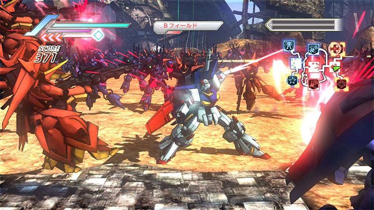 Dynasty Warriors: Gundam 3 gameplay screenshot