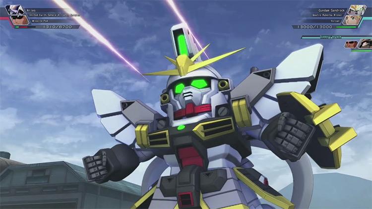 SD Gundam G Generation Cross Rays gameplay PS4