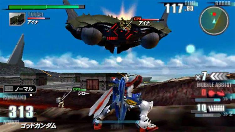 MS Gundam: Gundam vs. Gundam Next PLUS screenshot