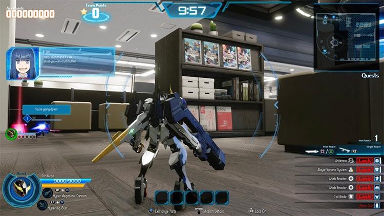 NEW Gundam Breaker gameplay screenshot