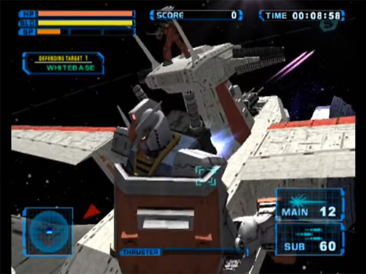 MS Gundam: Encounters in Space video game