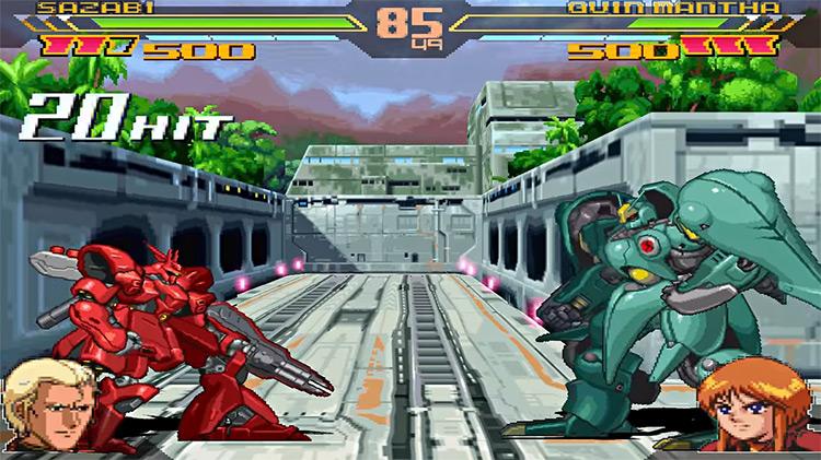 Gundam Battle Assault 2 gameplay PS1