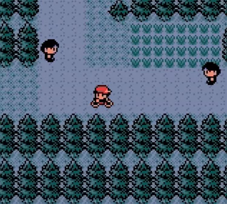 Pokémon Crystal gameplay screenshot