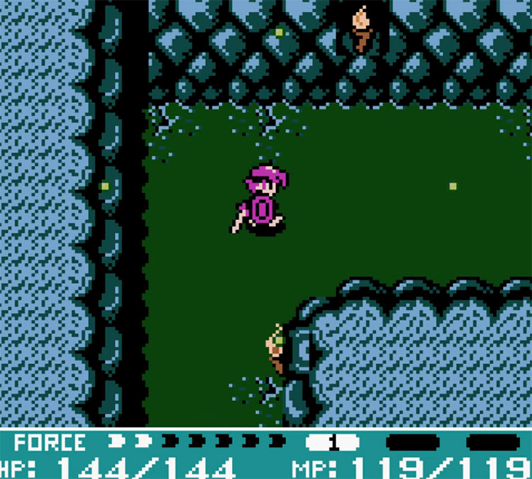 Crystalis Game Boy Color screenshot