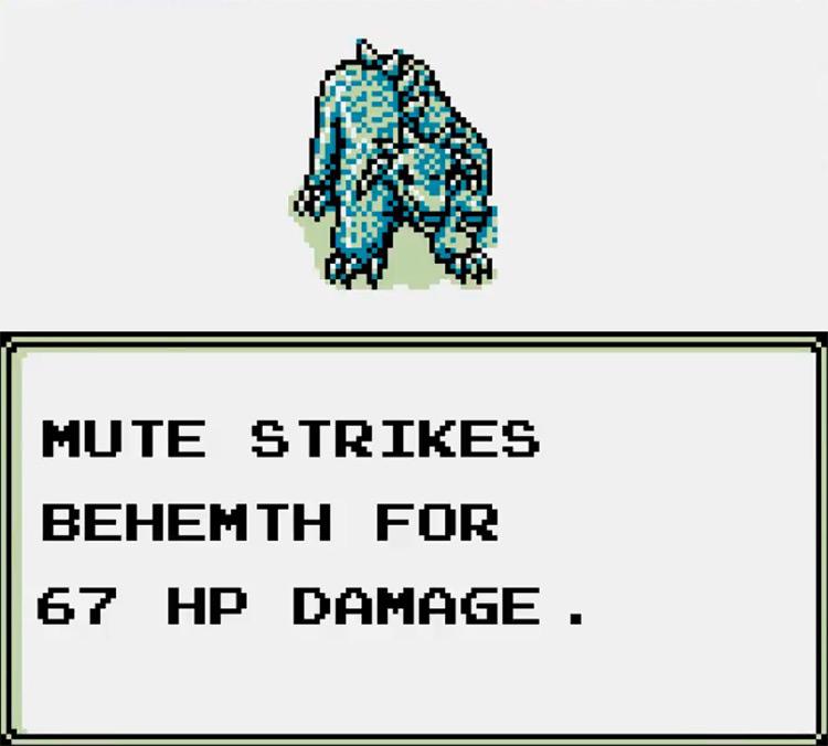 The Sword of Hope II Game Boy screenshot