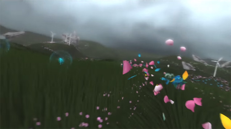 Flower PS3 gameplay screenshot