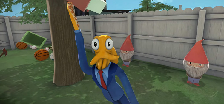 Octodad Dadliest Catch PS4 gameplay