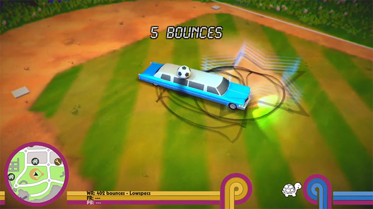 Roundabout PS4 gameplay screenshot