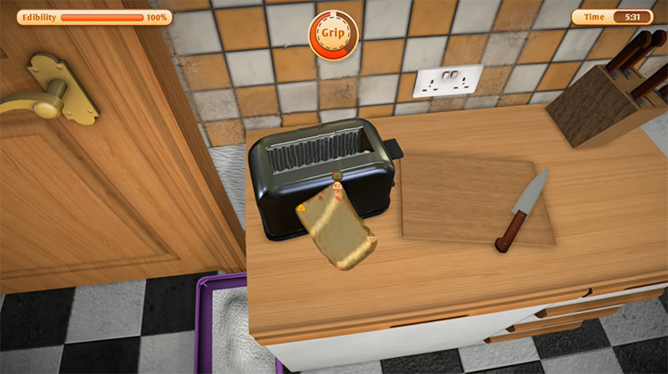 I Am Bread gameplay on PS4