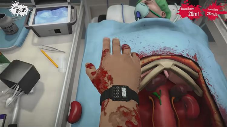 Surgeon Simulator: Anniversary Edition on PS4