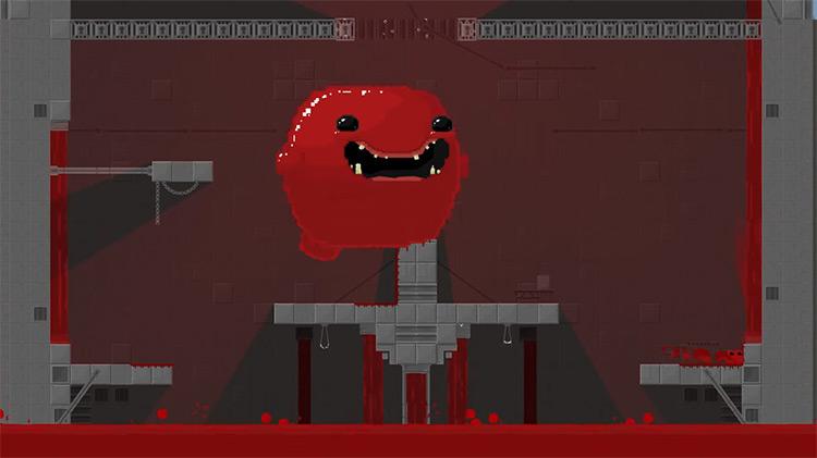 Super Meat Boy gameplay