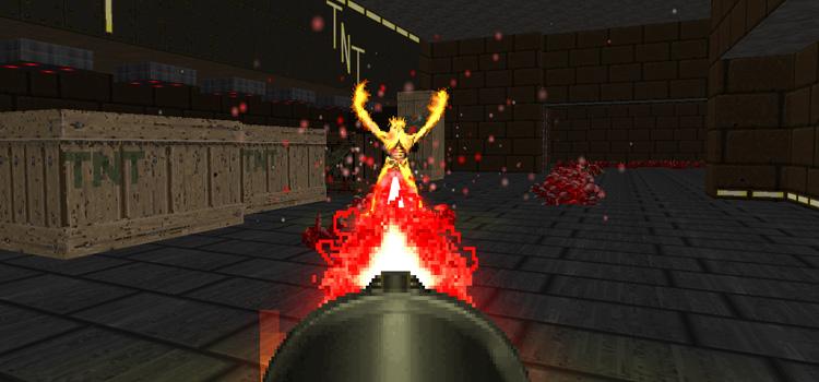 Doom 2 Screenshot - Final Doomer Plus Mod