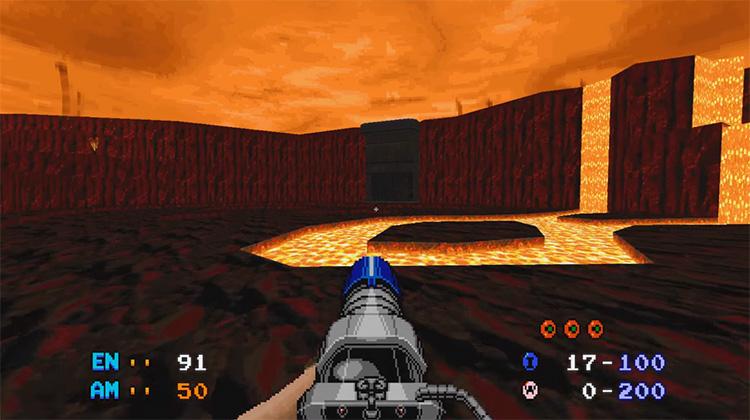 Space Hunter Mod for Doom 2