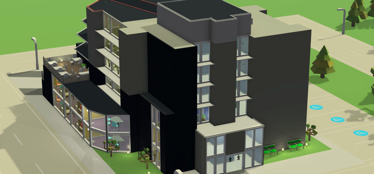 Startup Inc building preview screenshot