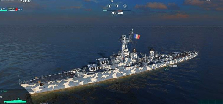 Camouflage Warship Modded preview