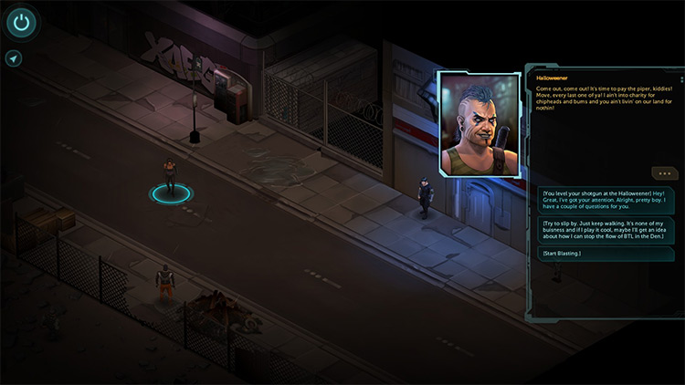 The Price of Conviction Shadowrun Returns mod