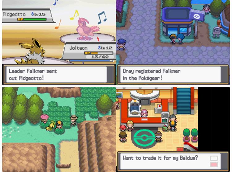 Pokémon Sacred Gold / Storm Silver screenshot