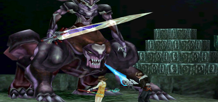 Ultima Weapon battle in FF8