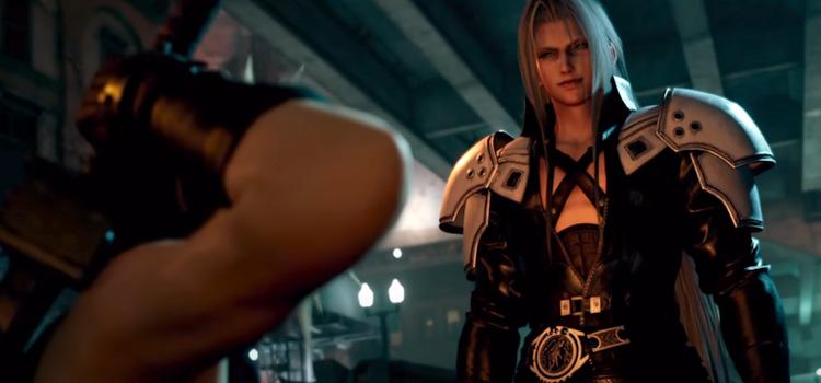 FF7 Sephiroth in HD