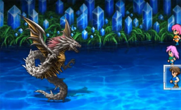 Shinryu from FFV