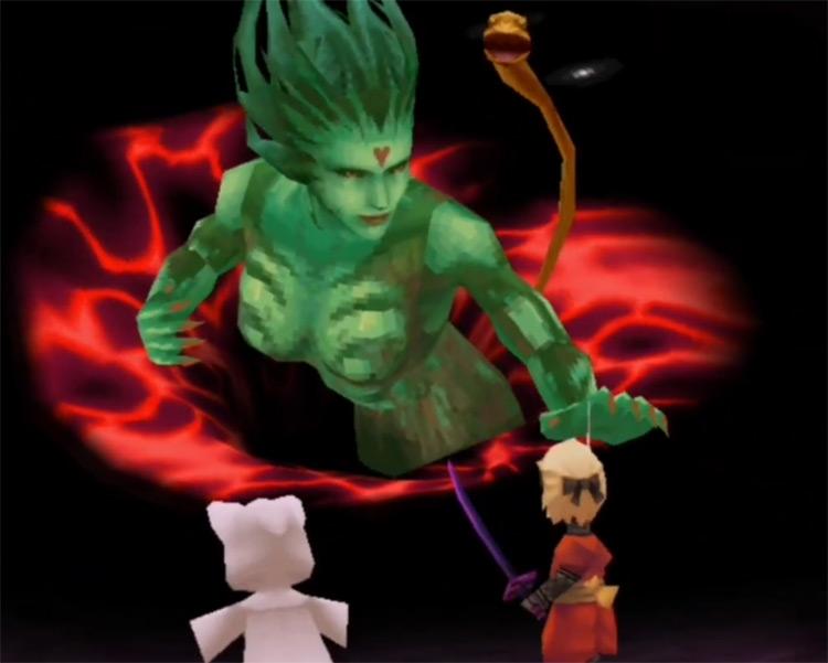 Cloud of Darkness in Final Fantasy III