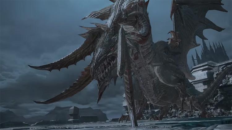 Nidhogg Final Fantasy XIV boss