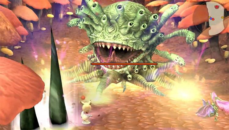 Marlboro – Final Fantasy Crystal Chronicles boss