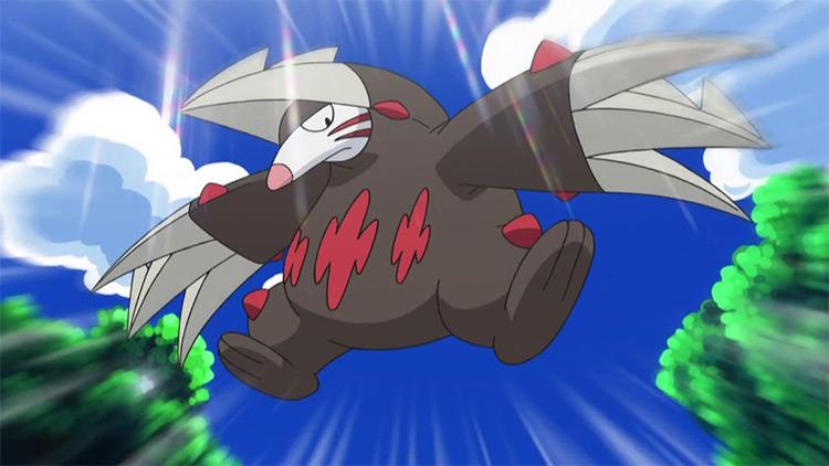 Excadrill Pokemon anime screenshot