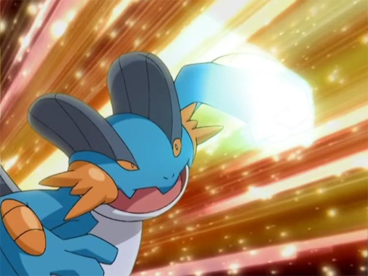 Swampert from Pokemon anime