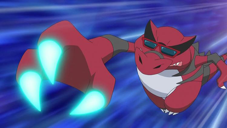 Krookodile Pokemon anime screenshot