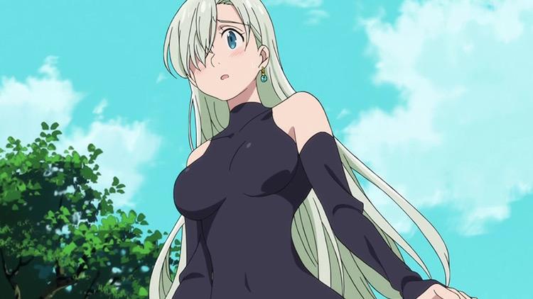 Elizabeth Liones in The Seven Deadly Sins anime