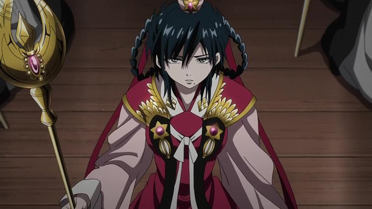 Gyokuen Ren from Magi: The Labyrinth of Magic anime