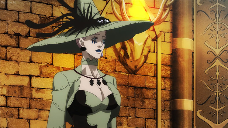 The Witch Queen from Black Clover anime